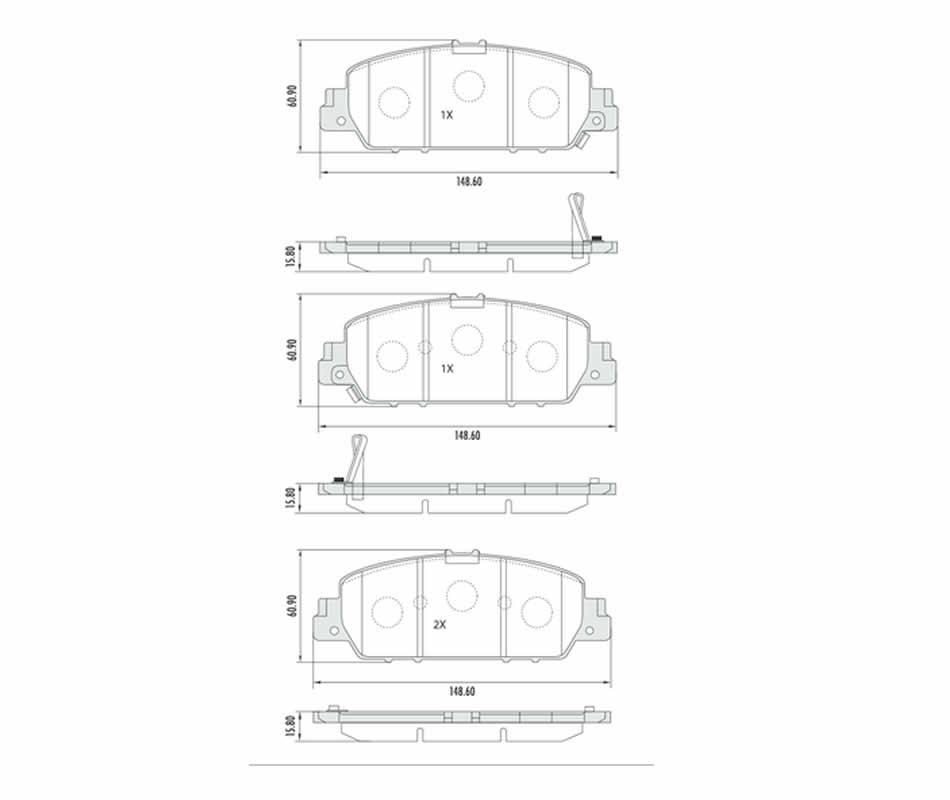 Disco + Pastilha Freio Cerâmica Honda HRV 1.8 Todos Após 2015 Dianteiro  - Unicar