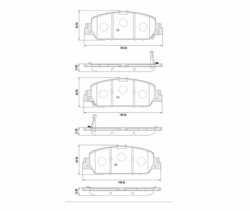 Disco + Pastilha Freio Dianteiro Honda HRV 1.8 Todos Após 2015