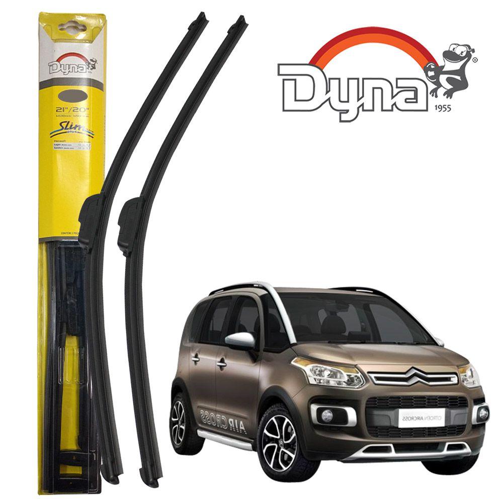 Jogo Palheta Dianteira Aircross C3 Picasso DS3 Grand Siena Idea Uno Ranger Fluence Slim Blade Plus Dyna