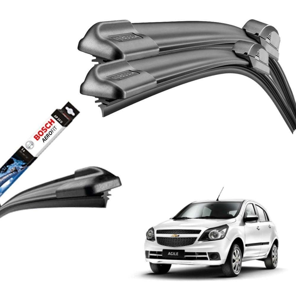 Jogo Palheta Original Bosch Aerofit Agile 2009 a 2011  - Unicar