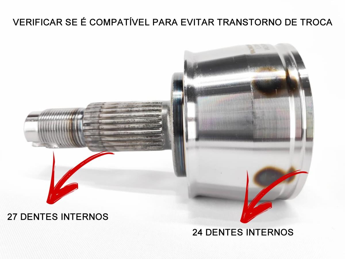 Junta Homocinética Fiat Toro 1.8 2.0 4X4 Diesel Jeep Renegade 1.8 2.0 Diesel 4x4 Original Axios