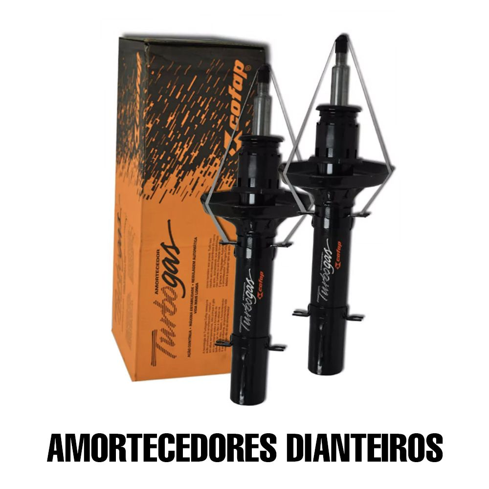 Kit 04 Amortecedor Turbogas Cofap IX35 + kits Batentes e Coifas  - Unicar
