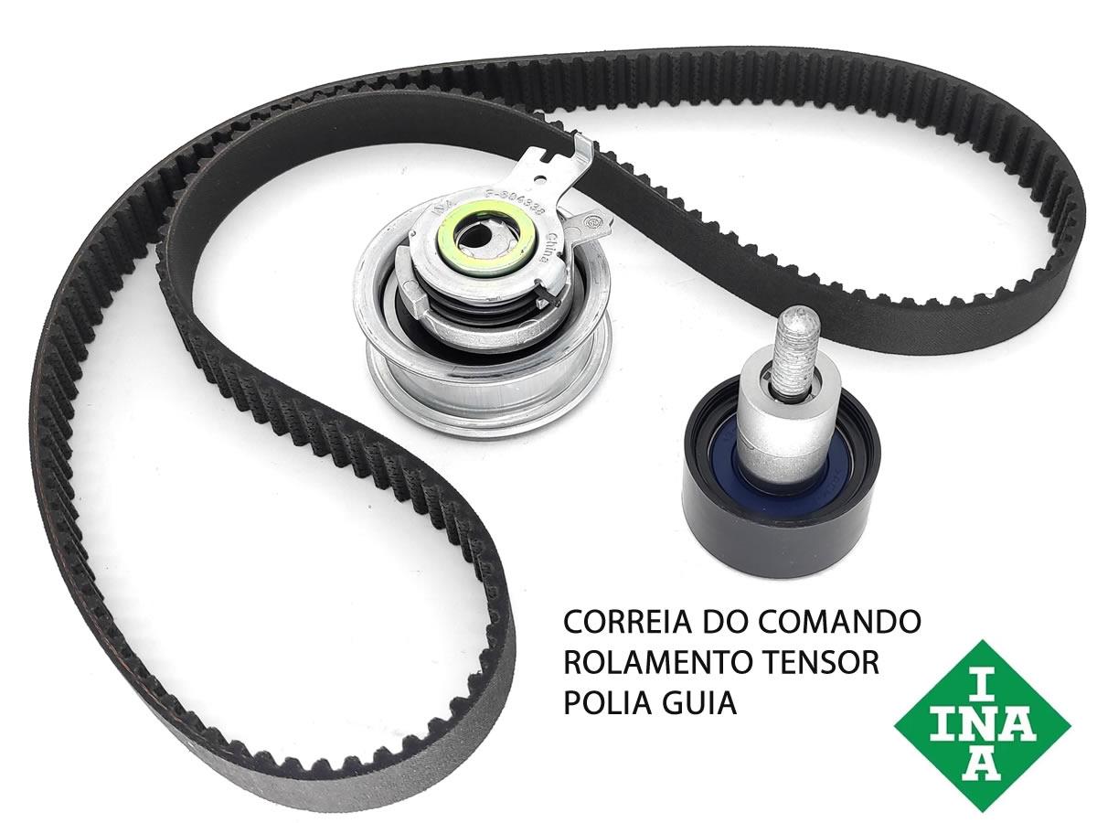 Kit Correia Comando VW Gol Up Fox Golf Jetta Saveiro A1 A3 Q3 Todos Motor MSI TFSI  - Unicar