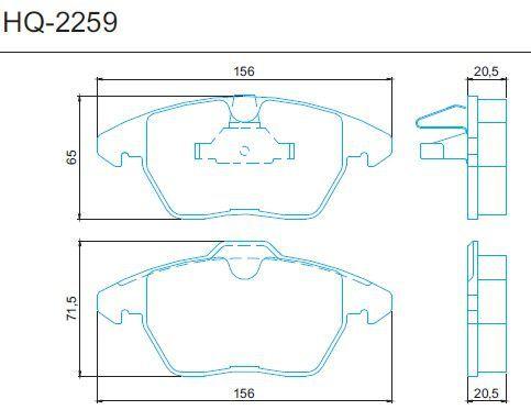Disco + Pastilha Freio Dianteiro Land Rover Freelander 2 Evoque Após 2010
