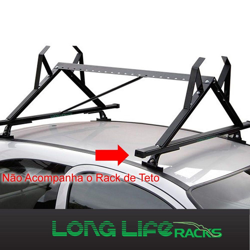 Kit Rack Longlife Sport + Porta Escadas Novo Palio 4 Portas   - Unicar