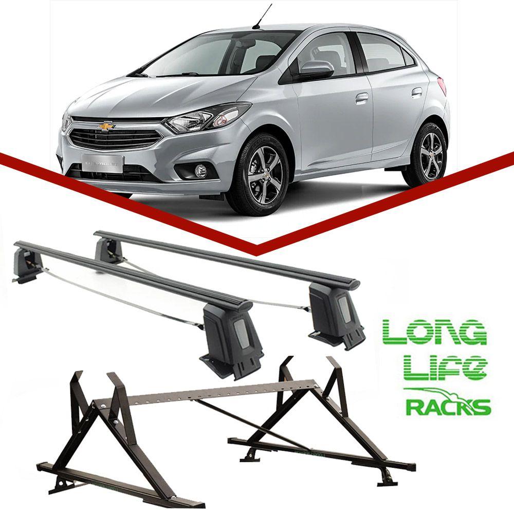 Kit Rack Longlife Steel + Porta Escadas Onix Prisma 4 Portas