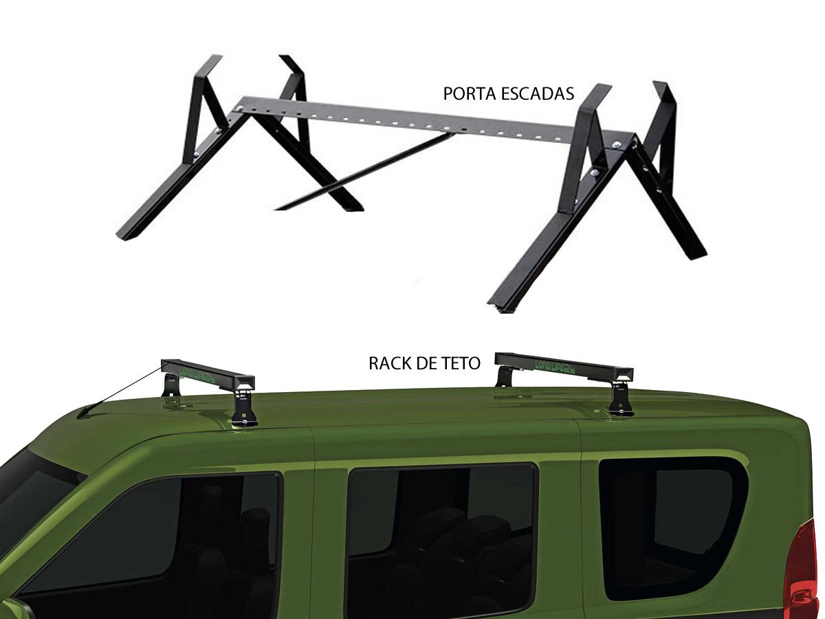 Kit Rack + Porta Escada Fiat Doblo  - Unicar