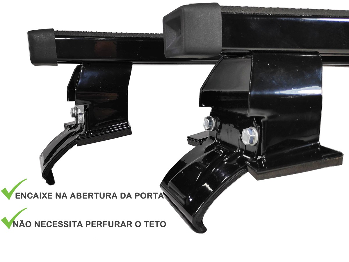 Kit Rack + Porta Escadas Corsa Até 2002 GM Classic Todos Modelos 4 Portas