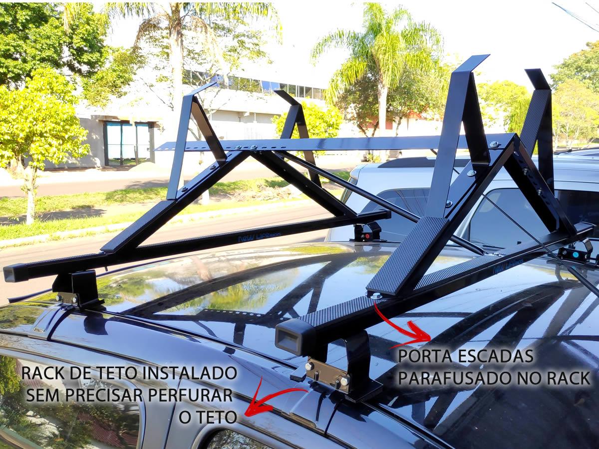 Kit Rack + Porta Escadas Ford Novo Ka Após 2014