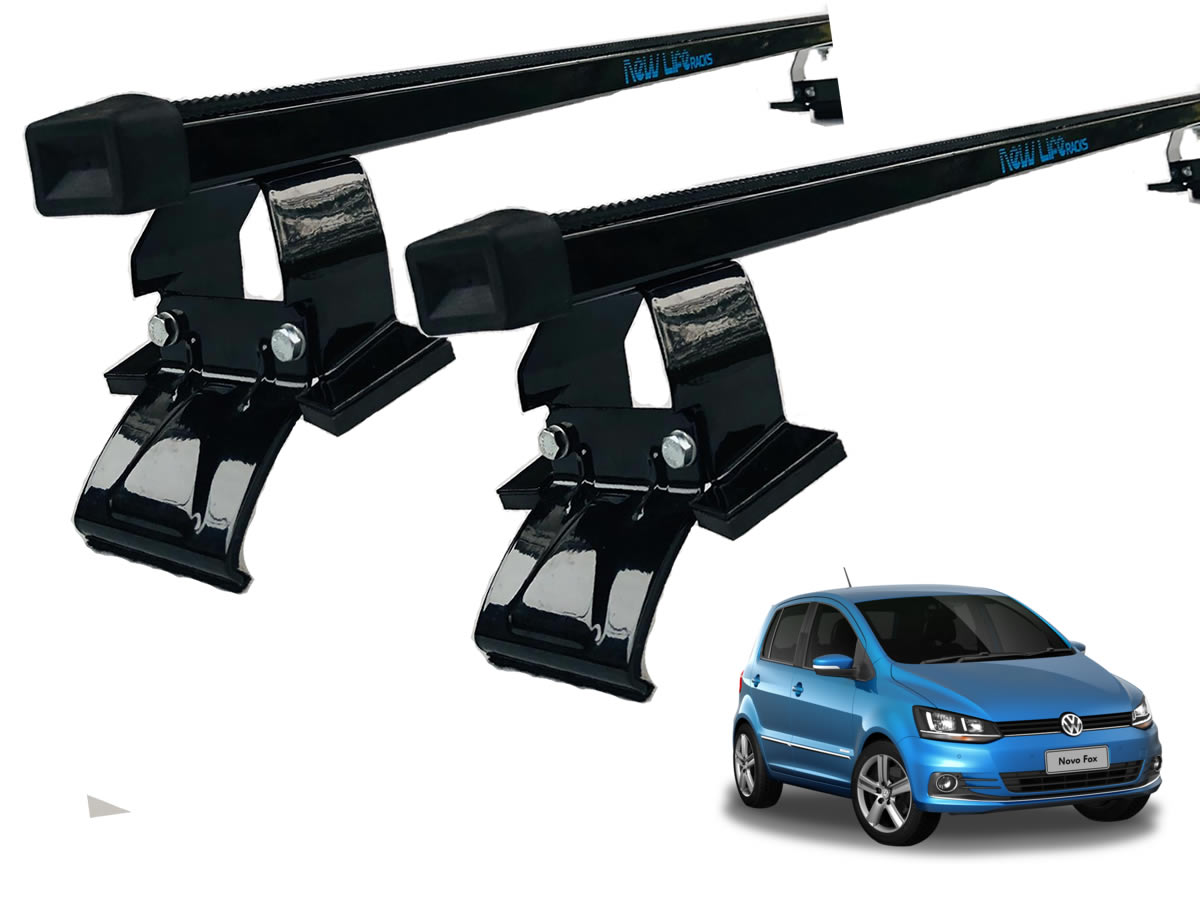 Kit Rack + Porta Escadas VW Fox 4 Portas Todos Modelos   - Unicar