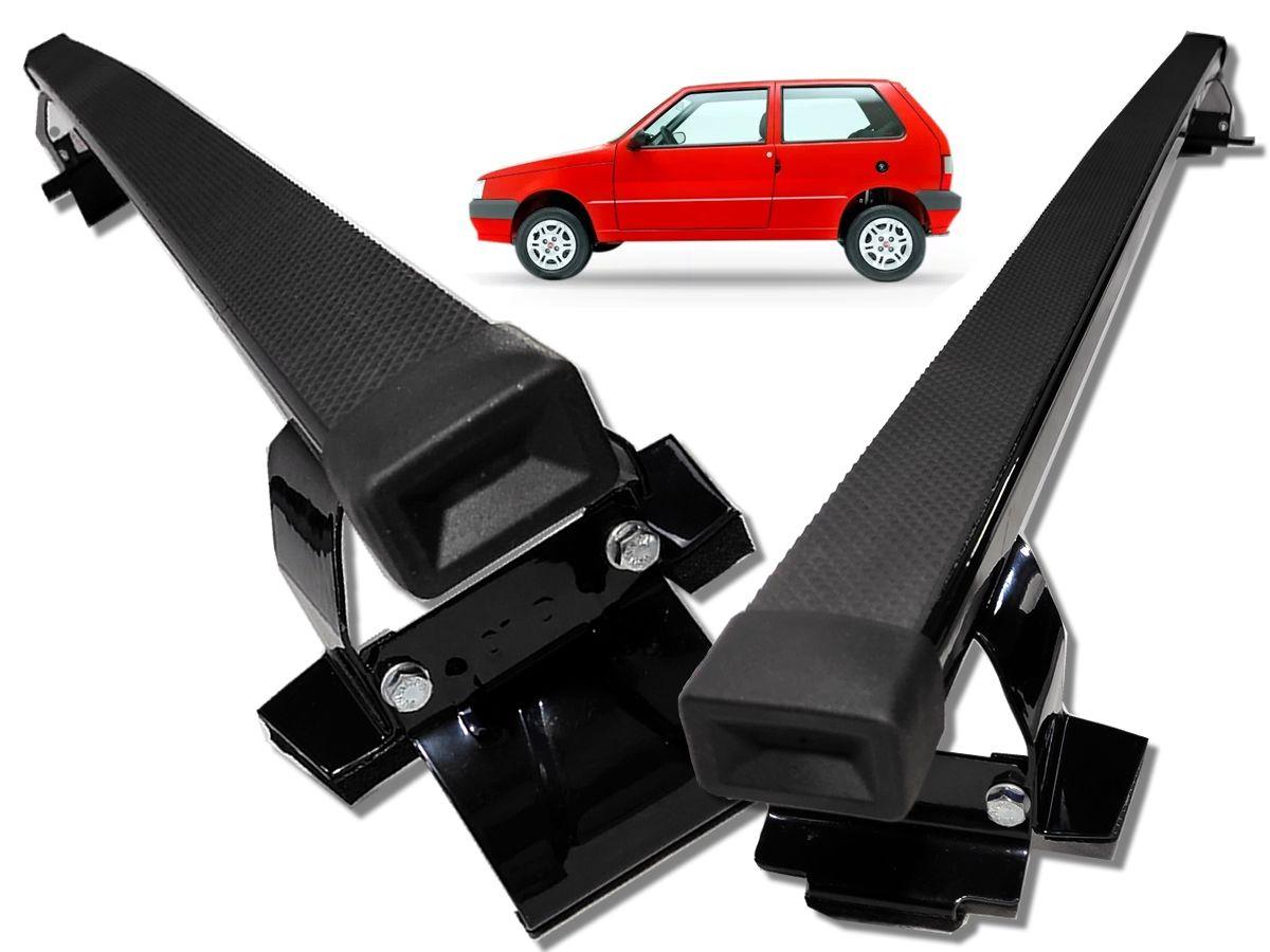 Kit Rack + Porta Escadas Fiat Uno 2 Portas Super Resistente Todos Modelo Quadrado