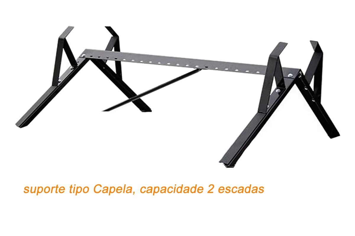 Kit Rack + Porta Escadas NewLife Fiat Novo Uno 2 Portas  - Unicar
