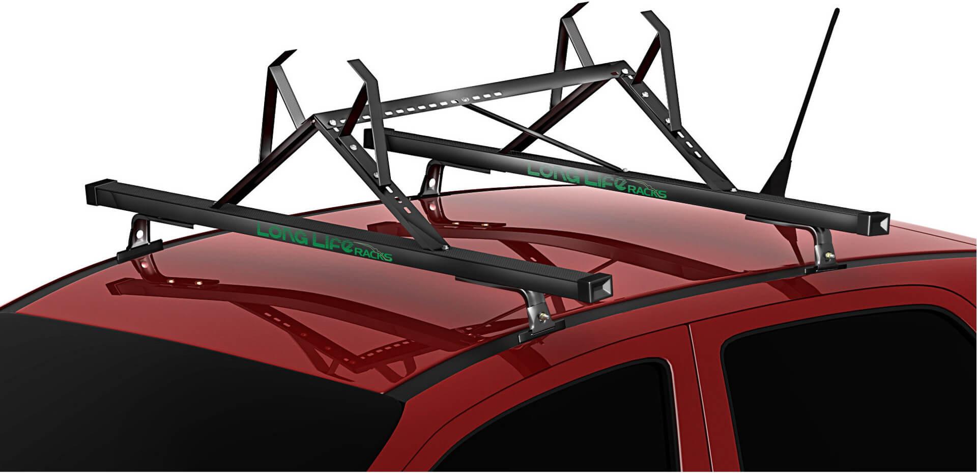 Kit Rack + Porta Escadas Teto Bagageiro Kadett Corsa Astra Celta Ipanema Aco Longlife (Ref. PE + K1)  - Unicar