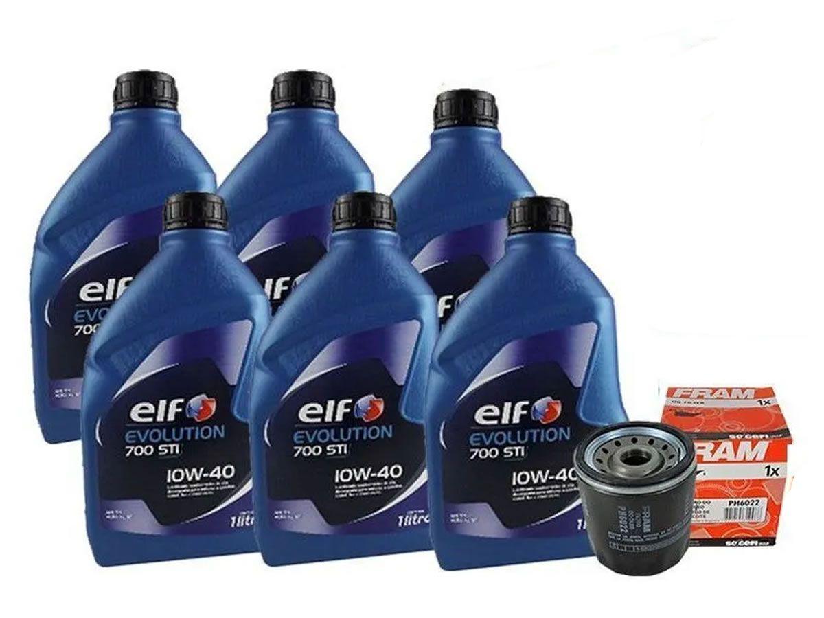 Kit Troca de Oleo Elf 10w40 + Filtro Renault Duster 2.0 16v Após 2012  - Unicar