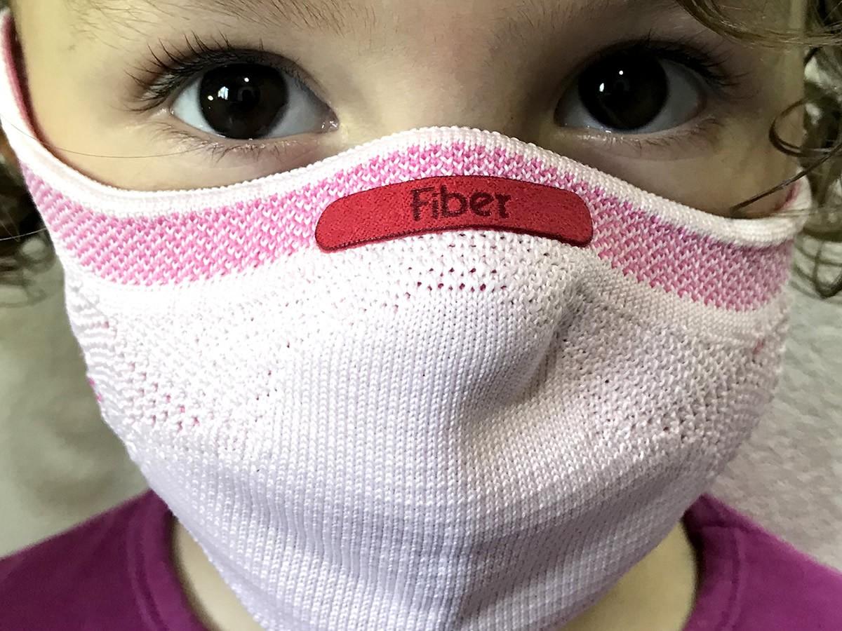 Máscara Proteção Respiratória 3d Knit Fiber Lavável + Kit 30 Filtros  - Unicar
