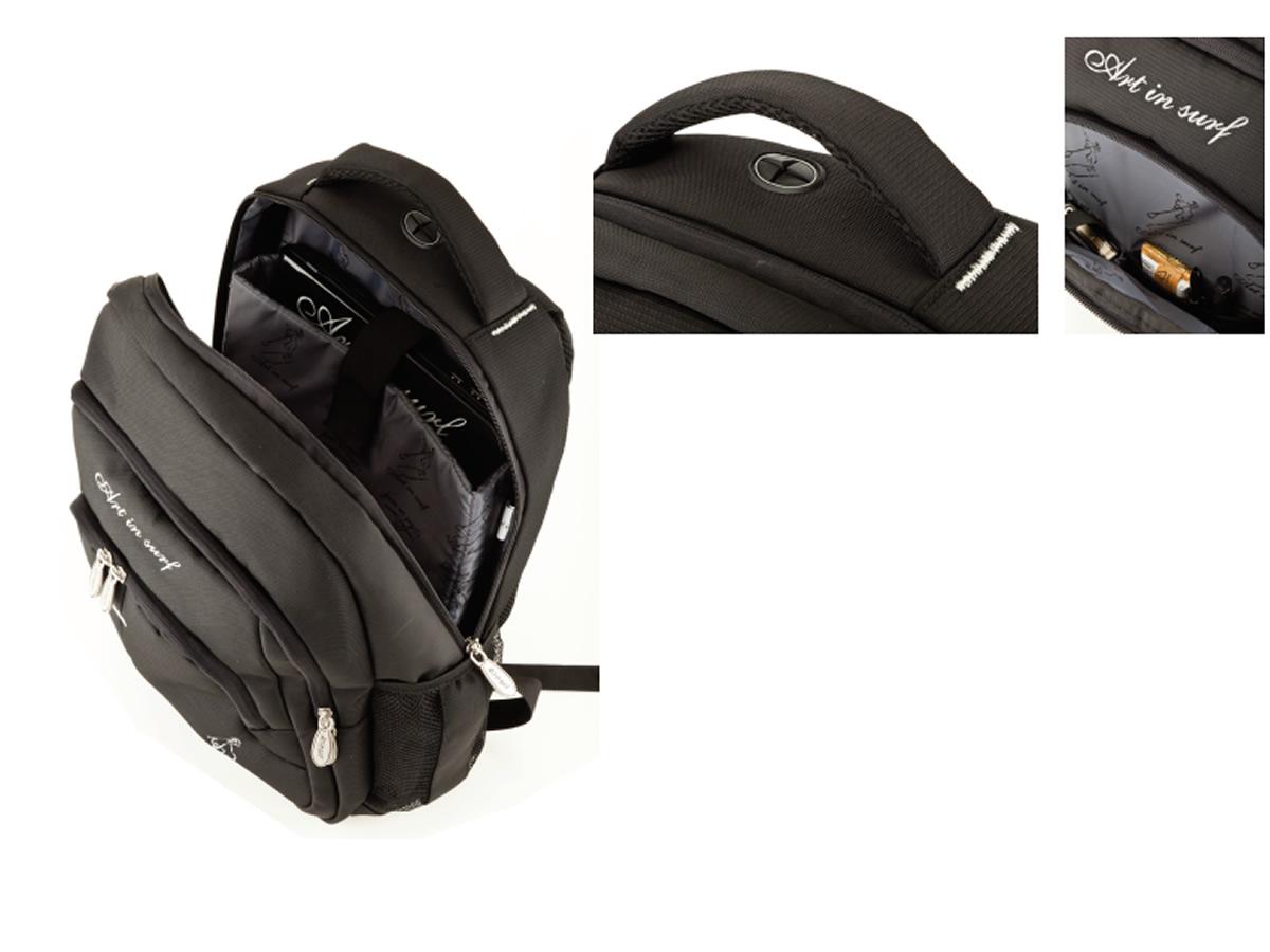 Mochila Bolsa Masculina Super Reforçada Compartimento para Notebook Art in Surf  - Unicar