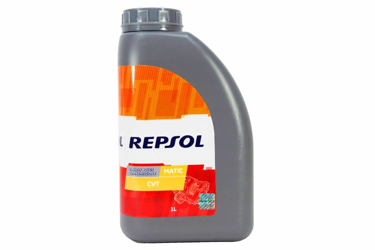 Oleo Sintético Cambio Automático CVT Repsol 1 Litro