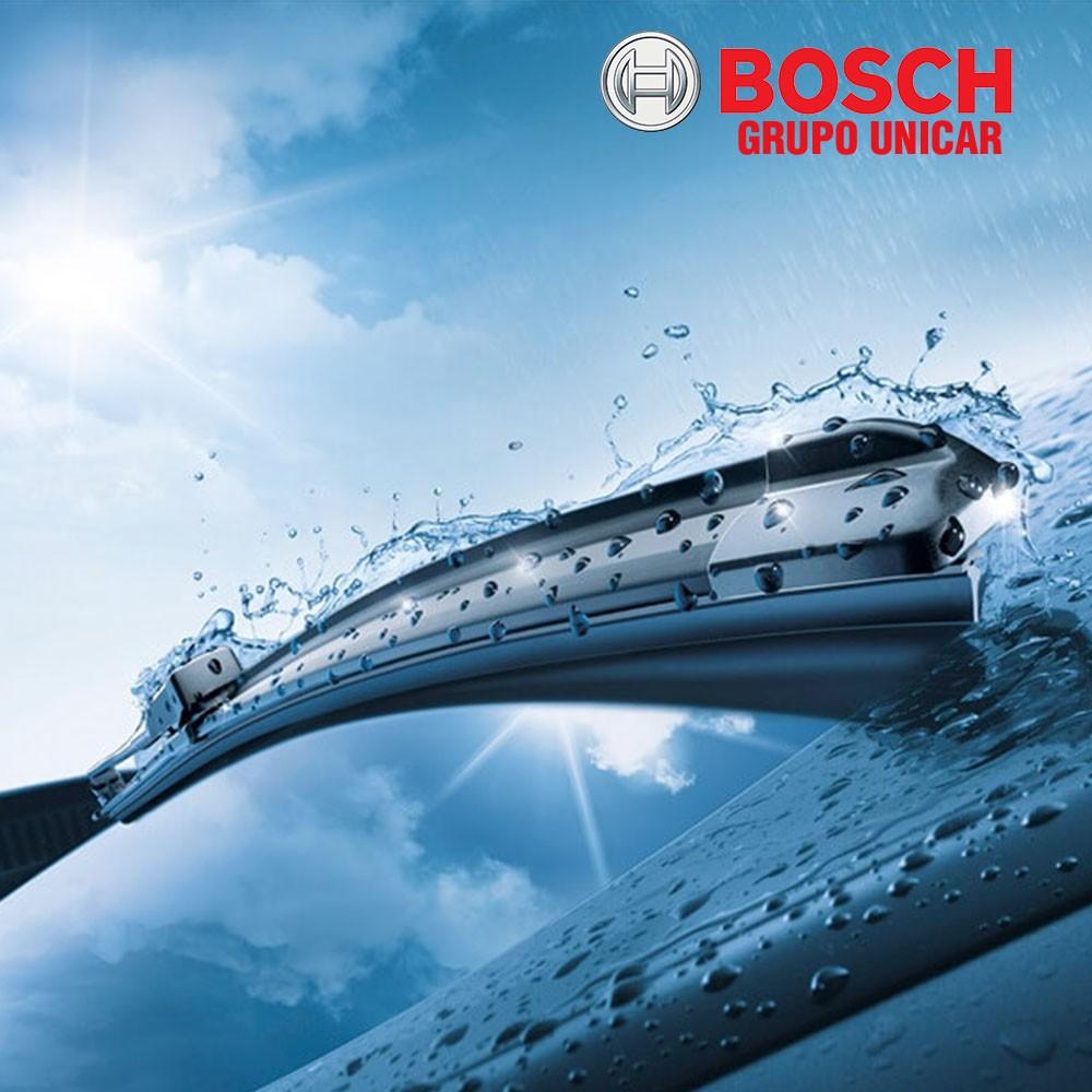Palheta Bosch Aerotwin Ssangyong Kyron Ate 2012 + Refil Tras  - Unicar