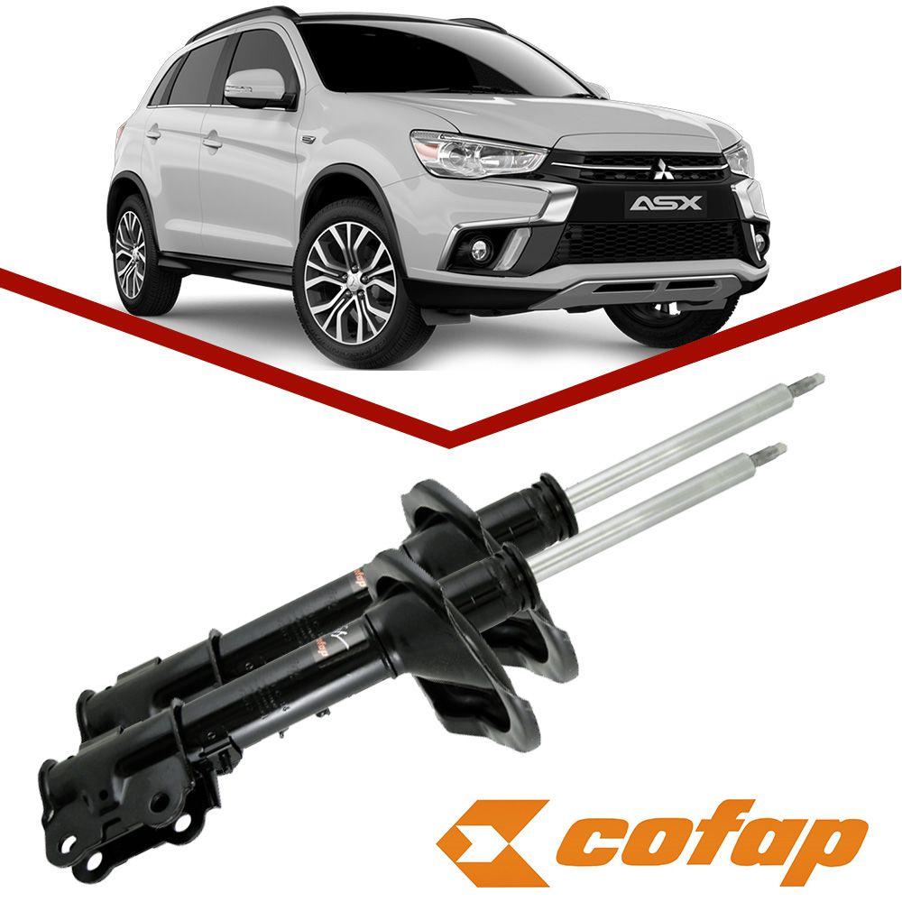 Par Amortecedor Dianteiro Mitsubishi ASX 2011 2012 2013 2014 2015 2016 Turbogas Cofap  - Unicar