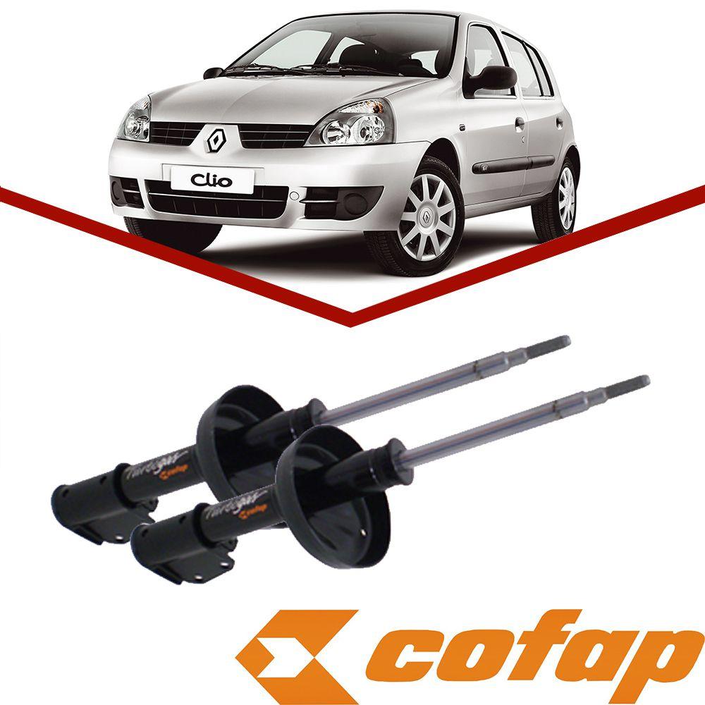 Par Amortecedor Dianteiro Renault Clio 1999 a 2011 motor 1.0 Turbogas Cofap GP30108  - Unicar