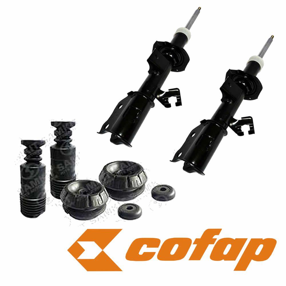 Par Amortecedor Dianteiro Turbogas Cofap Nissan Kicks + Kit Completo