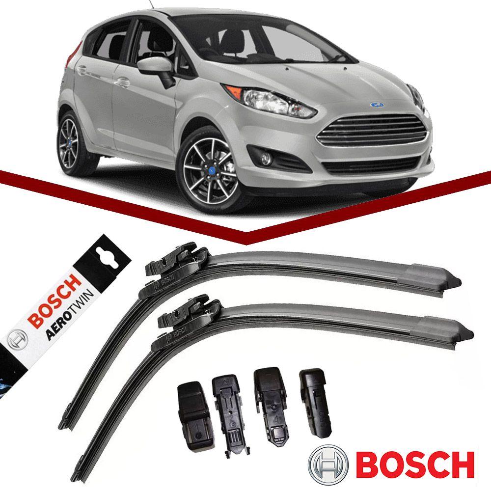 Par Palheta Original Bosch Aerotwin Ford New Fiesta 2013 em Diante  - Unicar