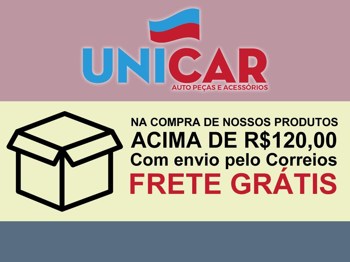 Pastilha Cerâmica + Disco Freio Dianteiro Gol G5 Voyage Saveiro Após 2012  - Unicar