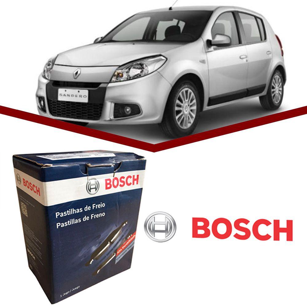 Pastilha Freio Dianteira Bosch Sandero 1.0 1.6 2007 a 2013  - Unicar