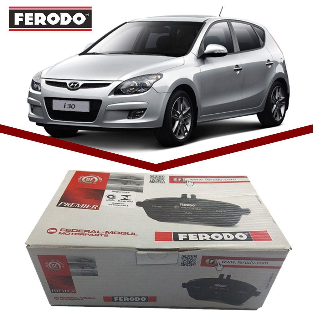 Pastilha Freio Dianteiro Ceramica Ferodo I30 2.0 16v 2009 a 2014  - Unicar