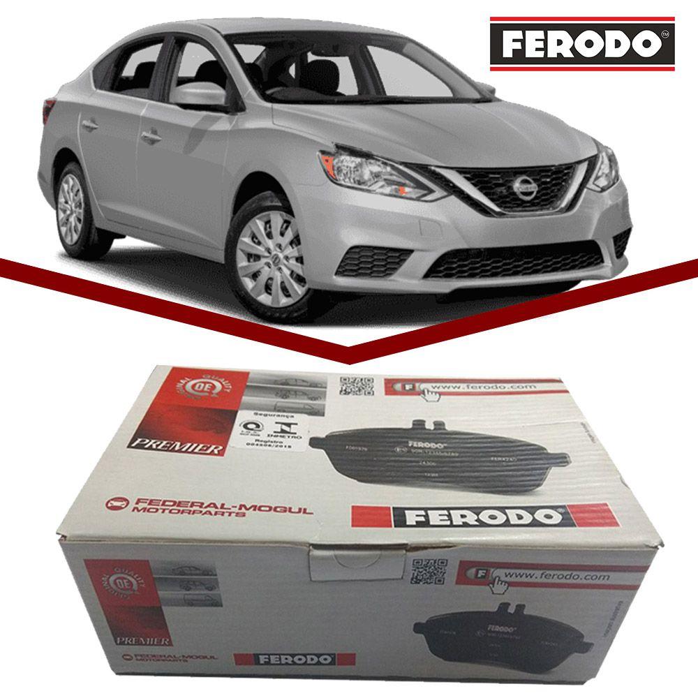 Pastilha Freio Dianteira Ceramica Ferodo Nissan Sentra 2.0 Todos
