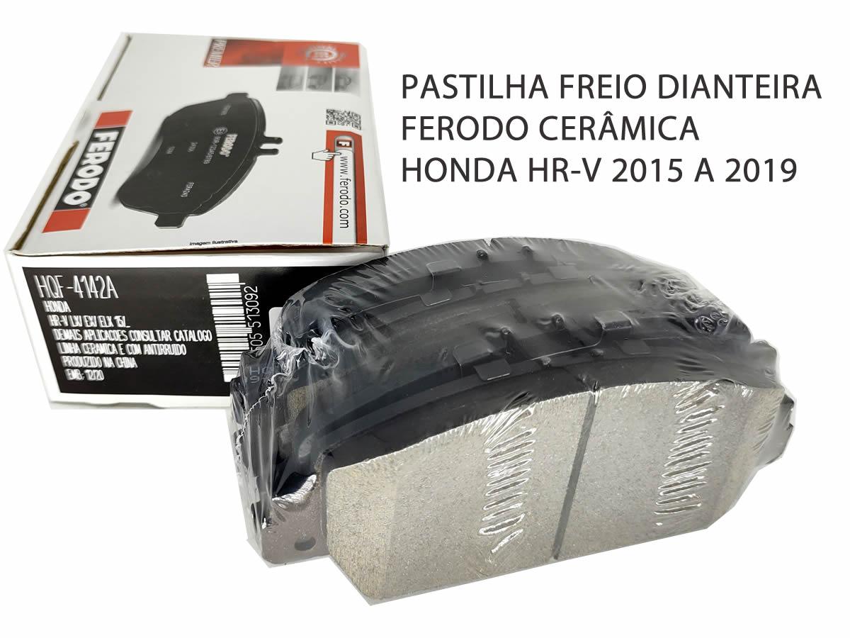 Pastilha Freio Dianteira Cerâmica Honda HR-V HRV 2015 a 2019 Original Ferodo  - Unicar