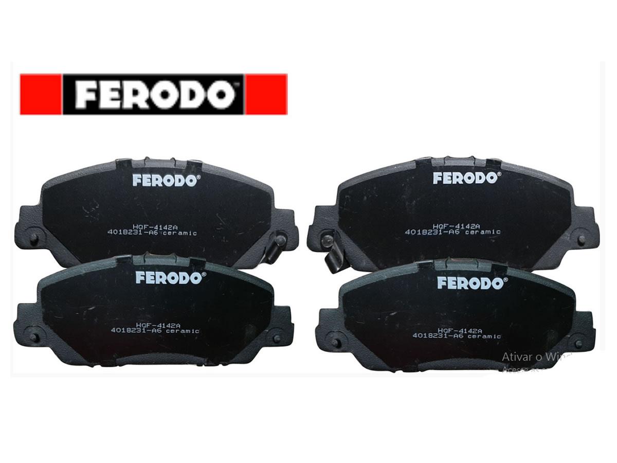 Pastilha Freio Dianteira Cerâmica Honda HR-V HRV 2015 a 2019 Original Ferodo