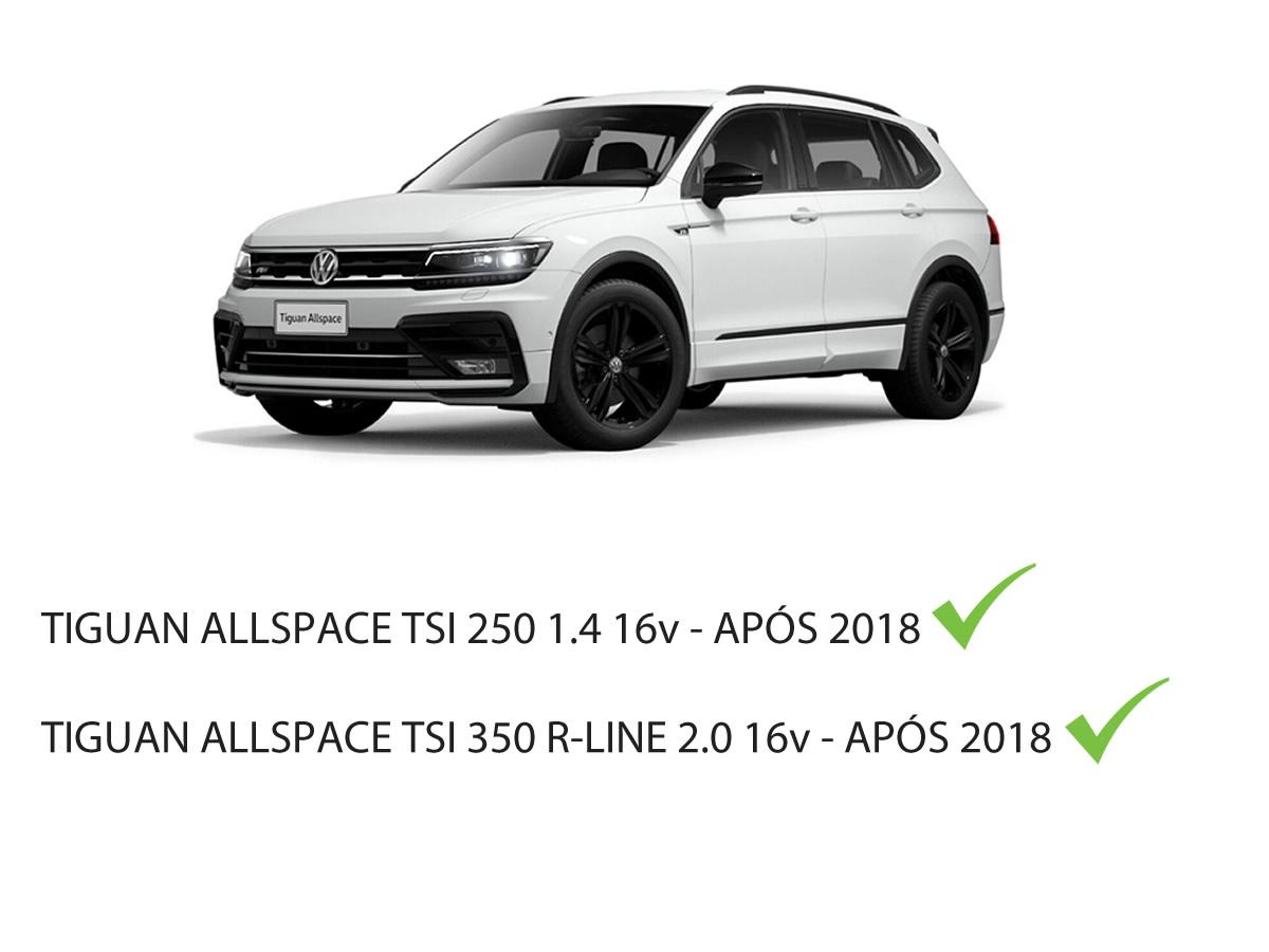 Pastilha Freio Dianteira + Traseira VW Tiguan AllSpace 250 TSI 1.4 R Line 350 TSI 2.0 Após 2018  - Unicar