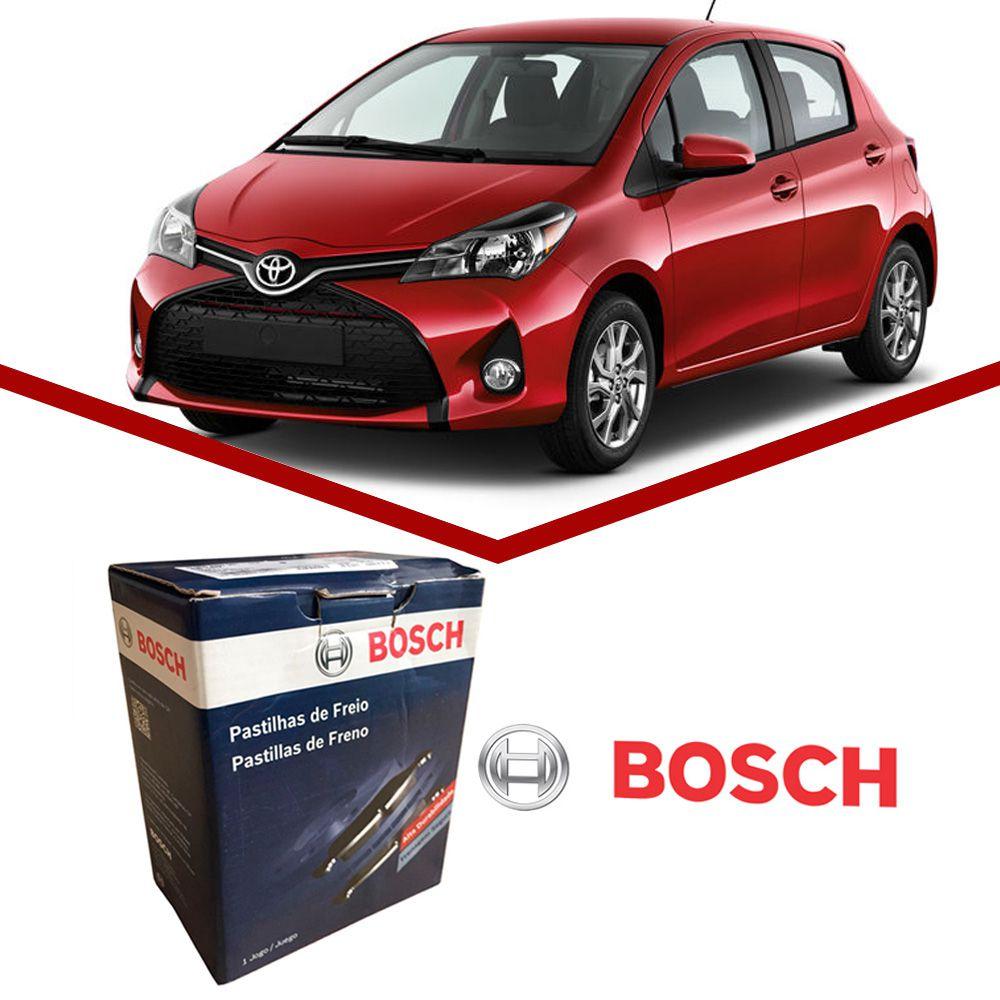 Pastilha Freio Dianteiro Bosch Toyota Etios Yaris 2012 em Diante  - Unicar