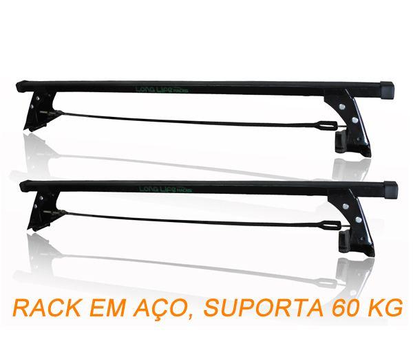 Porta Escadas + Rack de Teto Fiat Argo Todos Original LongLife  - Unicar