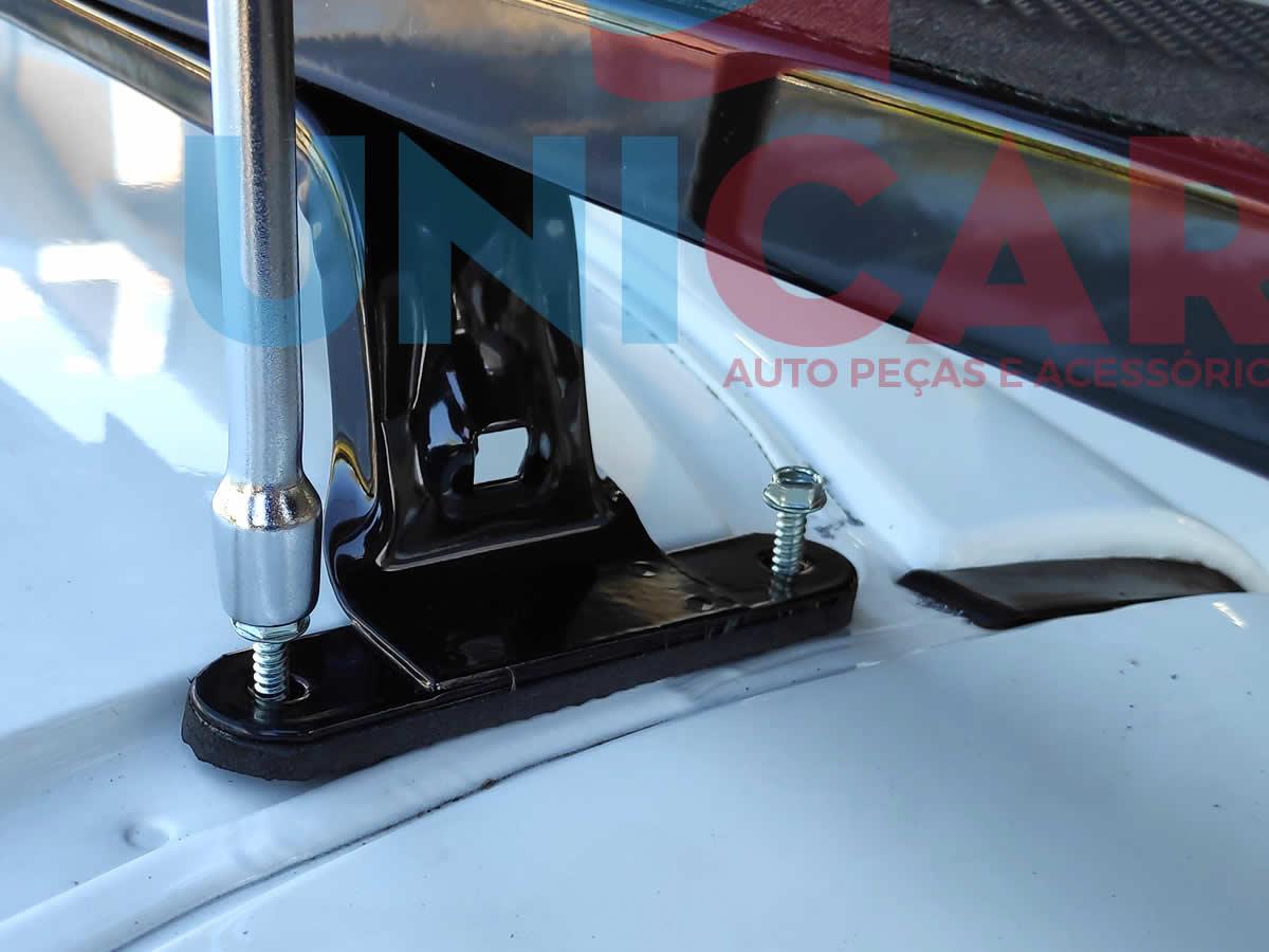 Rack De Teto Fiat Fiorino Todos Modelos LongLife Aço Super Resistente 60 Kg  - Unicar