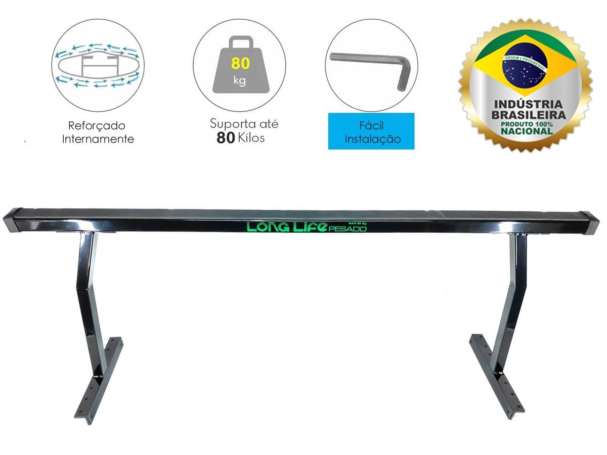 Rack Goleira Caçamba Camionete Hilux Amarok Ranger S10 Frontier Barra 1,60 mt