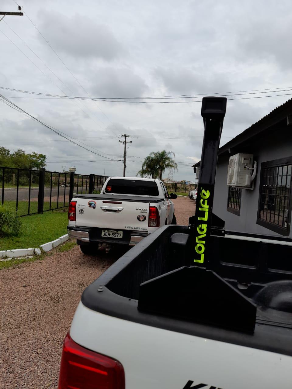 Rack Goleira Caçamba Camionete Hilux Amarok Ranger S10 Frontier Barra 1,80 mt