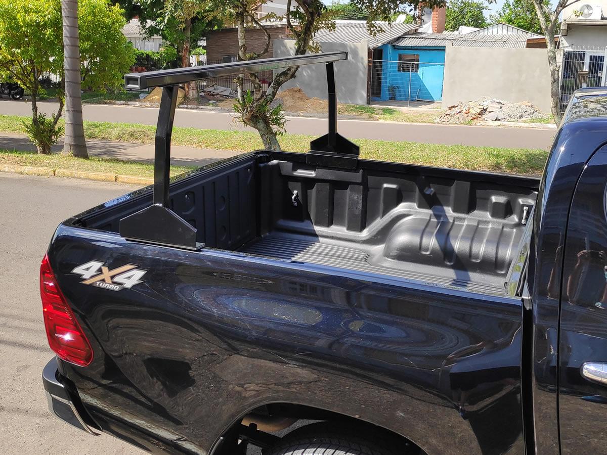 Rack Goleira Caçamba Camionete Hilux Amarok Ranger S10 Frontier Barra 1,80 mt  - Unicar