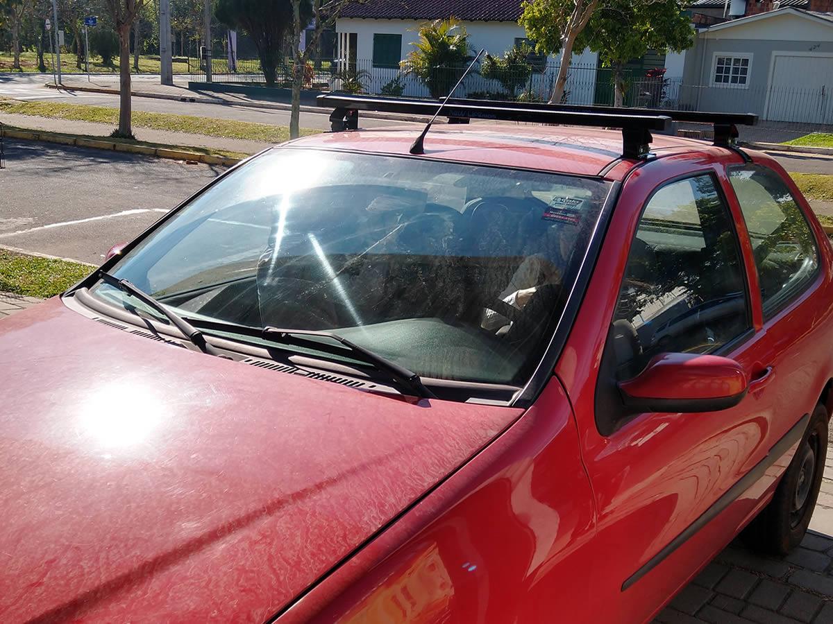 Rack Teto Bagageiro Fiat Palio 2 Portas Todos Exceto Modelo Novo Palio  - Unicar