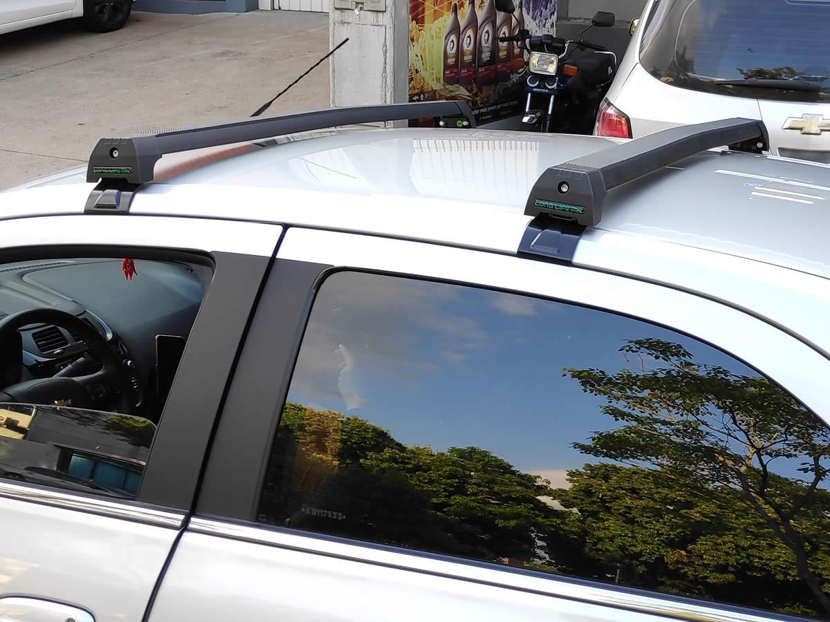 Rack Teto Bagageiro GM Cobalt 4 Portas Todos Modelos Longlife Sports Aluminio  - Unicar