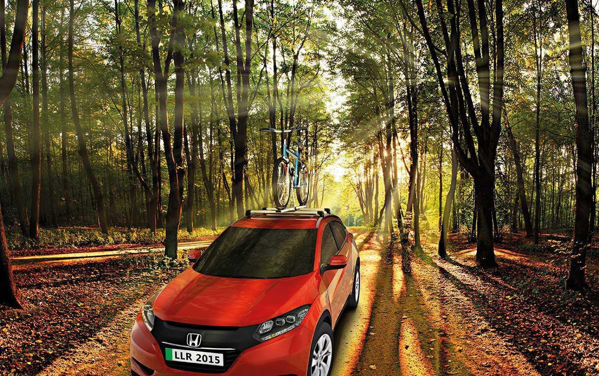 Rack Teto Bagageiro Honda HRV Aluminio Longlife Sports  - Unicar