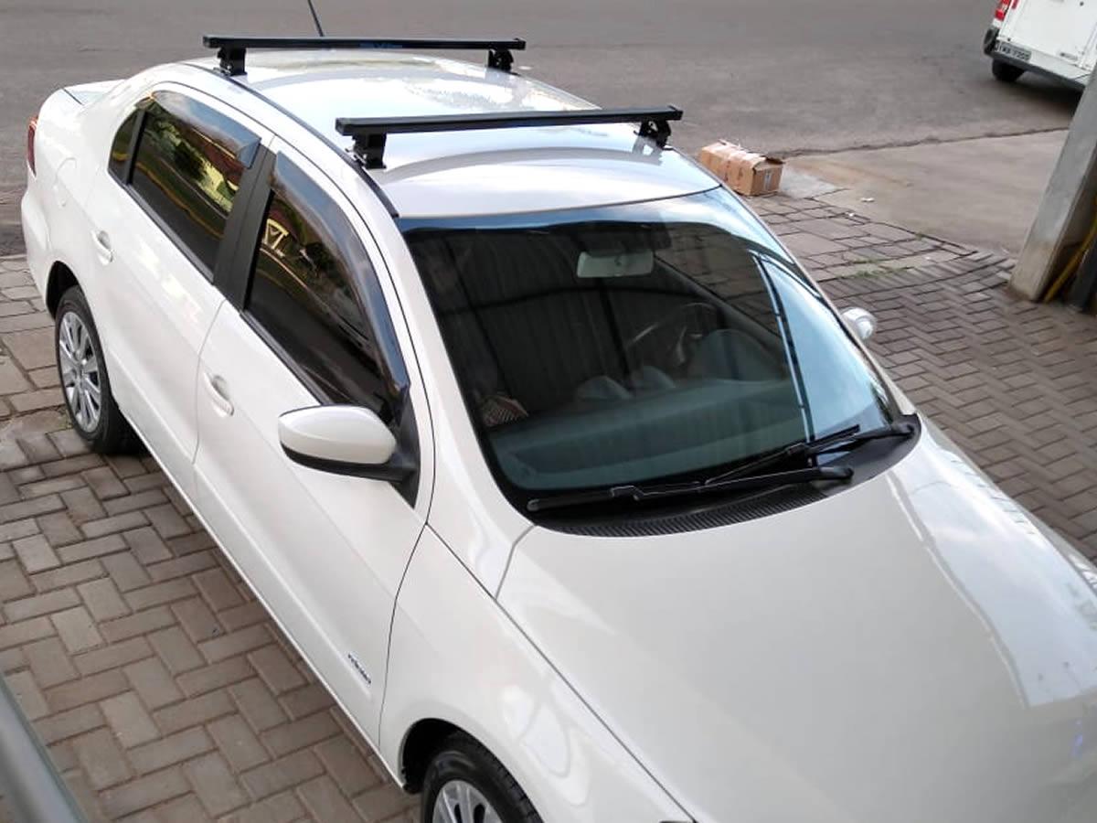 Rack Teto Bagageiro Fiat Palio 4 Portas / VW Gol G5 G6 G7 G8 Todos 4 Portas