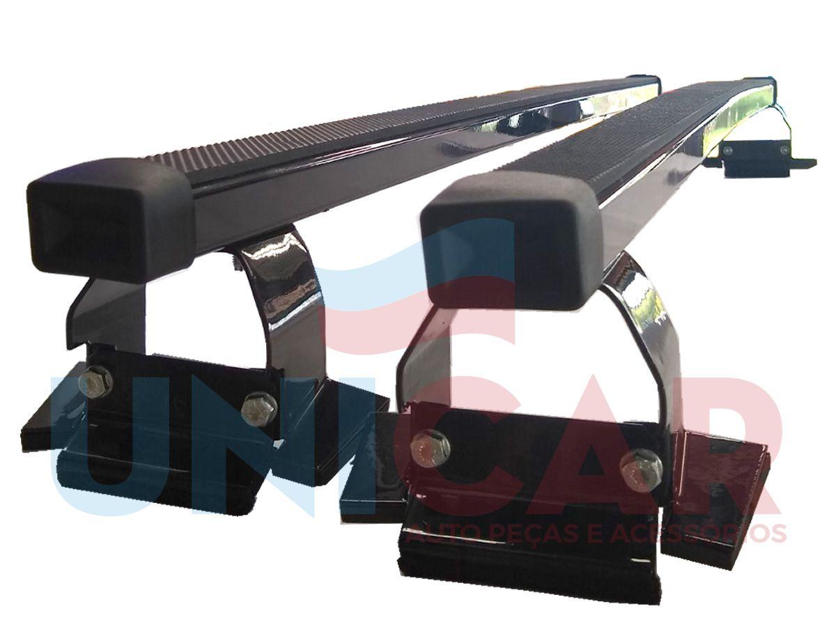 Rack Teto Bagageiro Gol G2 G3 G4 1999 a 2008 2 ou 4 Portas NewLife Aço