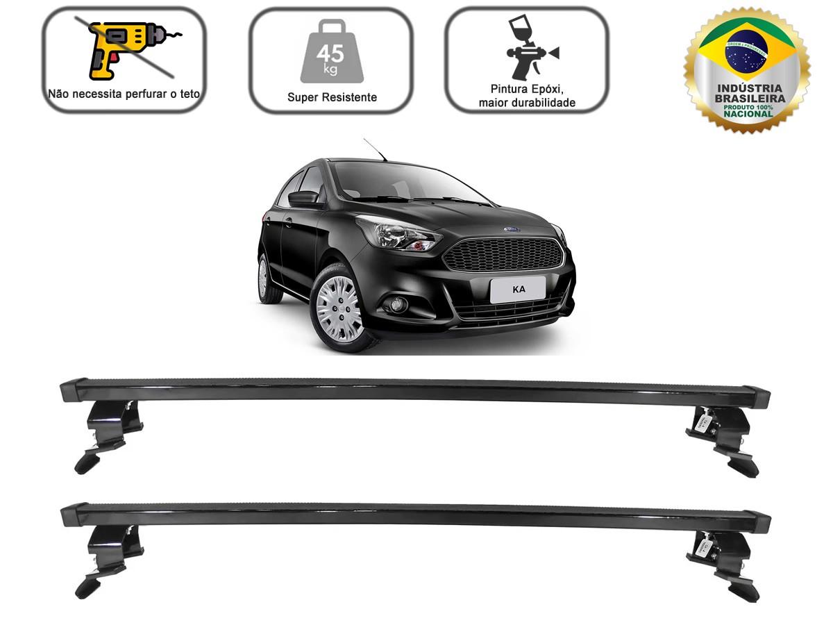 Rack Teto Bagageiro Novo Ford Ka Após 2015 2 e 4 Portas Aco