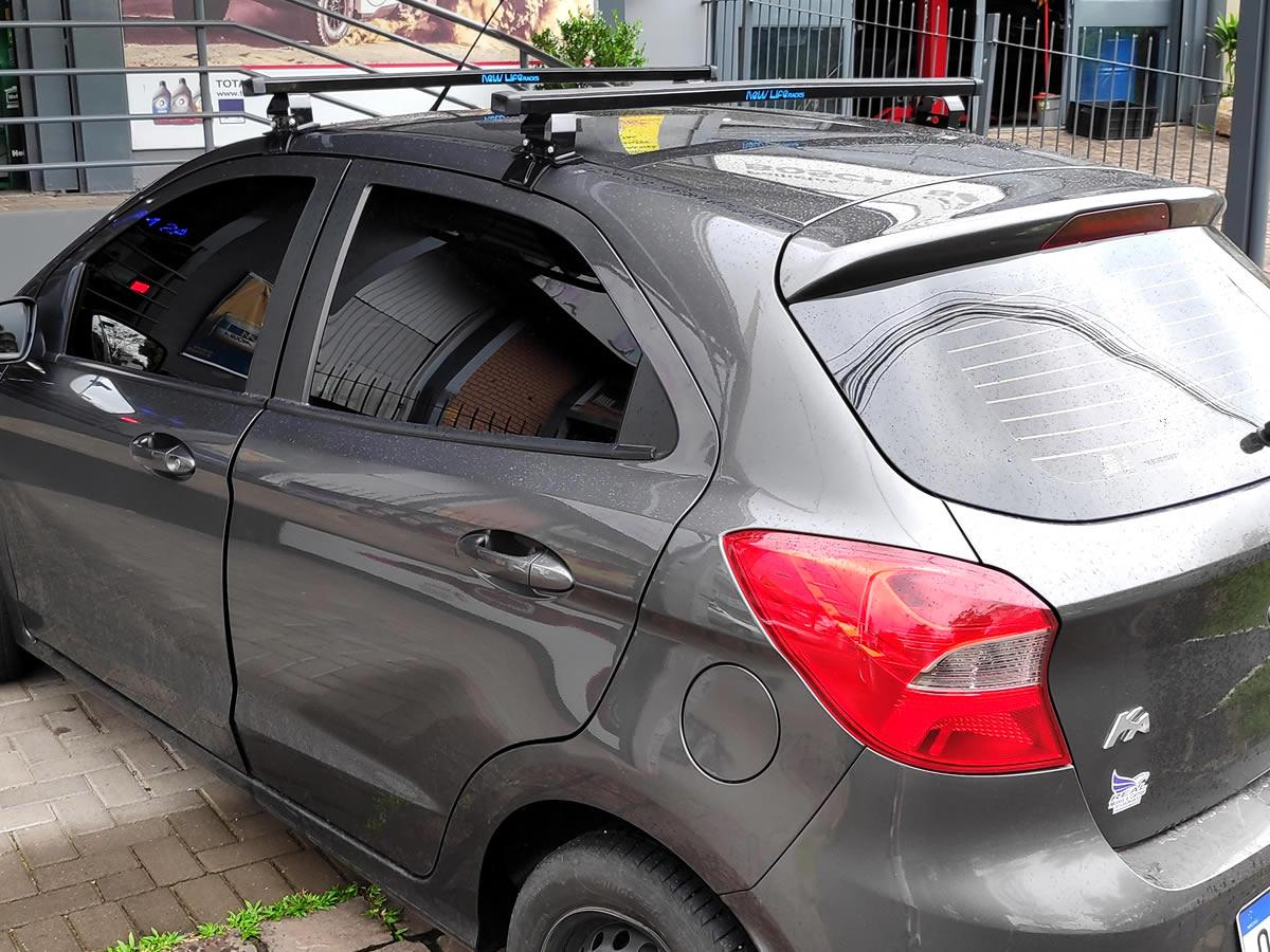 Rack Teto Bagageiro Novo Ford Ka Após 2015 2 e 4 Portas Aco  - Unicar