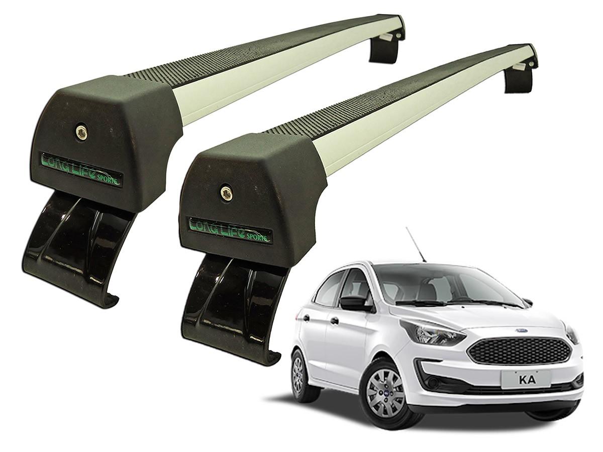 Rack Teto Bagageiro Novo Ford Ka Hatch Sedan 2015 2016 2017 2018 2019 2020 2021  - Unicar
