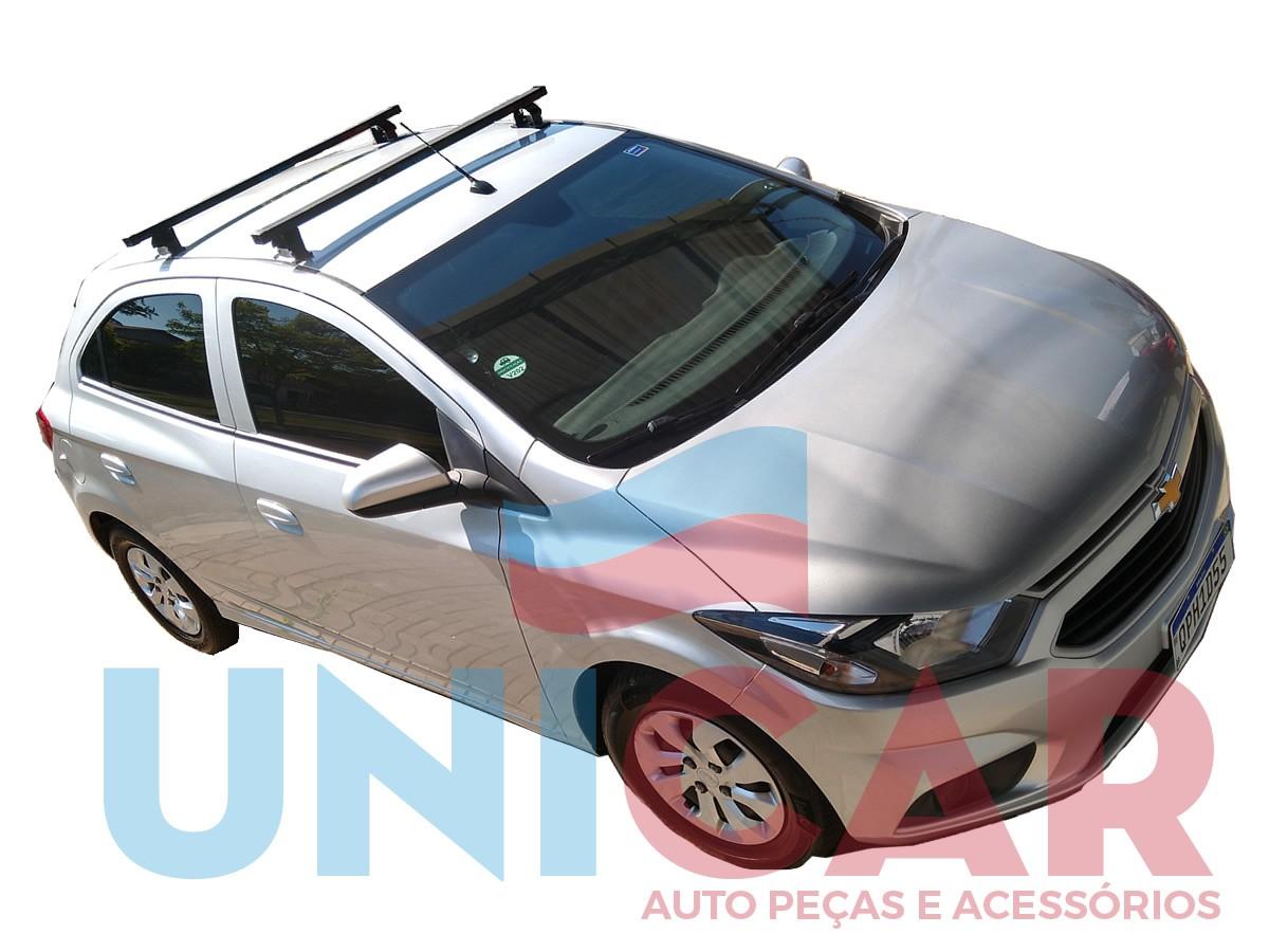 Rack Teto Bagageiro Onix 2013 a 2019 NewLife Aço  - Unicar