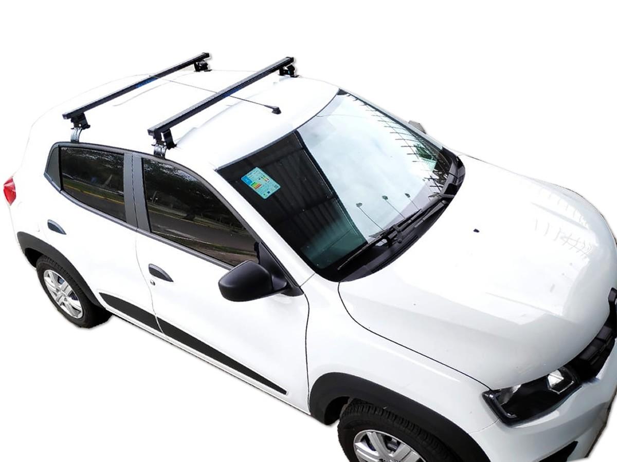 Rack Teto Bagageiro Renault Kwid NewLife Aço