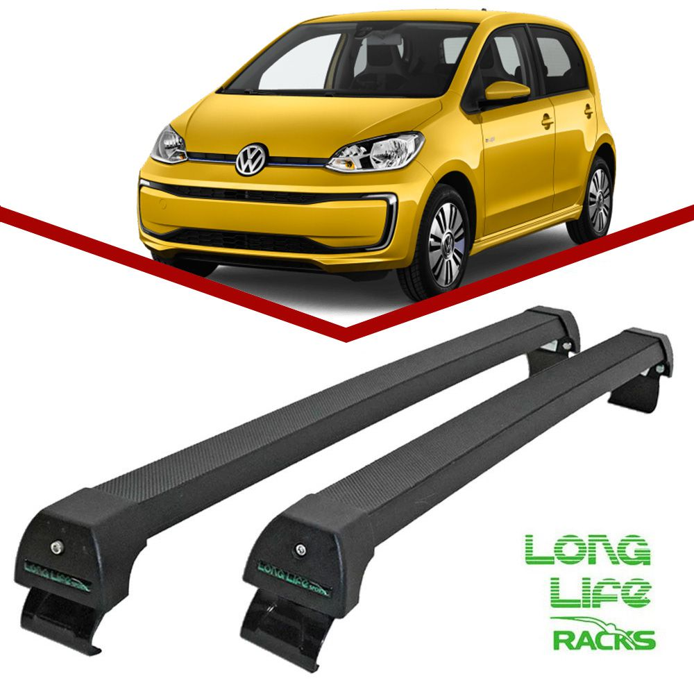 Rack Teto Bagageiro Volkswagen Up 2 e 4 Portas Longlife Sports Preto  - Unicar